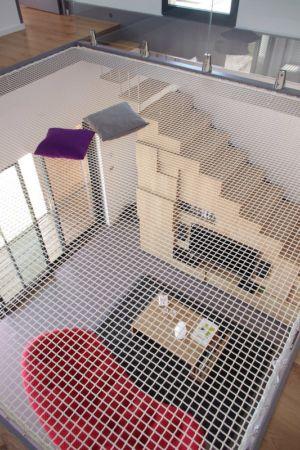 trampoline étage - Maison l'Estelle par François Primault architecte - Moirax, France