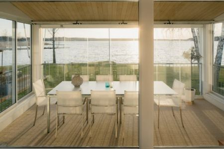 véranda - Maison contemporaine scandinave par Boris Culjat - Suède.jpg