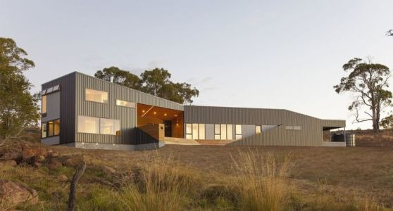 Valley house par Philip M Dingemanse - Australie | + d'infos