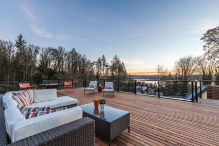 vaste toiture terrasse - chris-pardo par Chris Pardo Conception - Washington, USA
