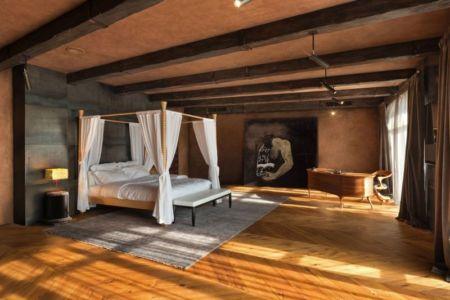 vaste chambre & bureau - Residence-BO par Baraban+design studio - Kiev, Ukraine