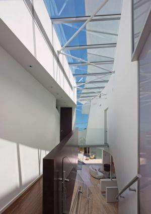 verrière étage - Birch Residence par Griffin Enright Architects - Los Angeles, Usa