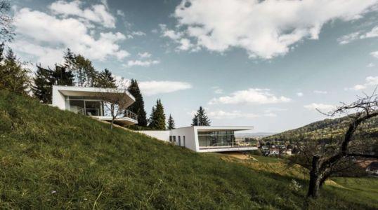versant colline & vue balcons - Villas-2B par Love Architecture - Graz, Autriche