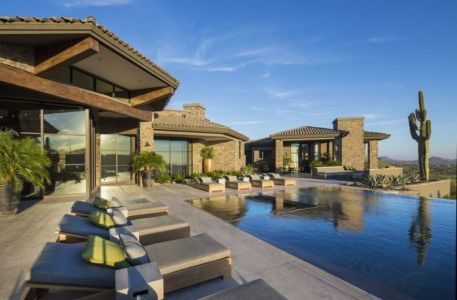 villa du desert par Tor Barstad -Scottsdale, Usa | + d'infos