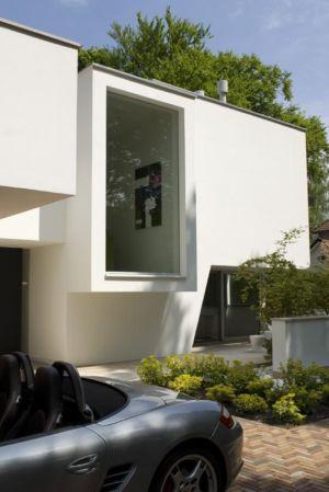 vitrage - Villa contemporaine par Clijsters Architectuur Studio - Bilthoven, Pays-Bas