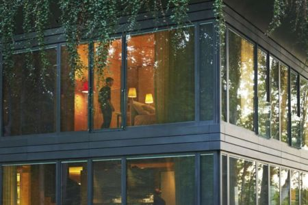 vitrage étage - P.A.T.H par Philippe Starck et Riko - Montfort, France