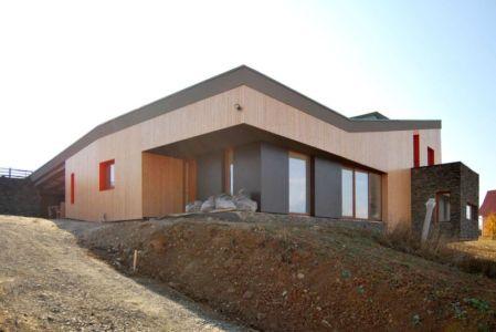 voie d'accès - Hajdo-House par Blipsz Architecture - Odorheiu Secuiesc, Roumanie