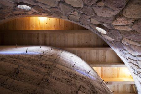 voute et puits de lumière  - The Cave in Pilares par Greenfield - Coahuila, Mexique