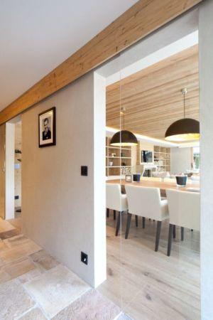 vue îlot central de cuisine - Rougemont-Residences Plusdesign - Rougemont, Suisse