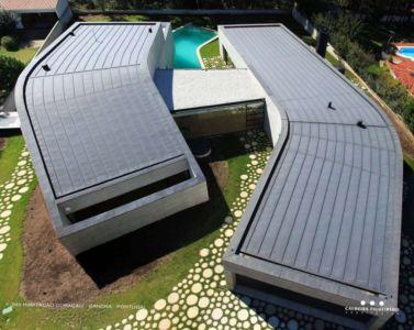 vue aérienne - Cardio House par Caldeira Figueiredo Arquitectos - Portugal