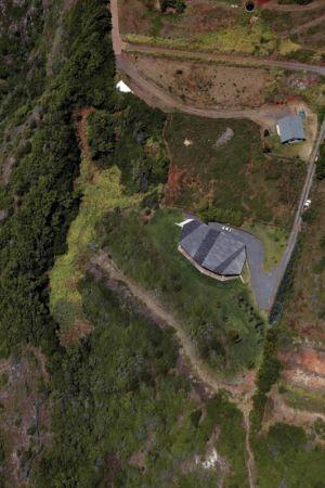 vue aérienne - Clifftop House Maui par Dekleva Gregoric Arhitekti - Maui, Hawaï