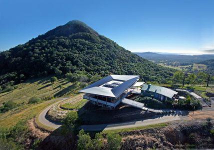 vue aérienne - Cooroy Studio par  JMA Architects - Cooroy, Australie