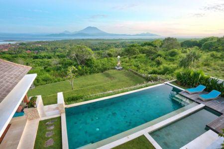 vue aérienne piscine - jodie-cooper-design par Jodie Cooper Design - Bali, Indonesie