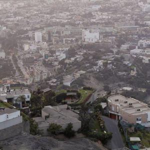 vue aérienne site - Pachamanca-House par 1-arquitectos - Lima, Pérou