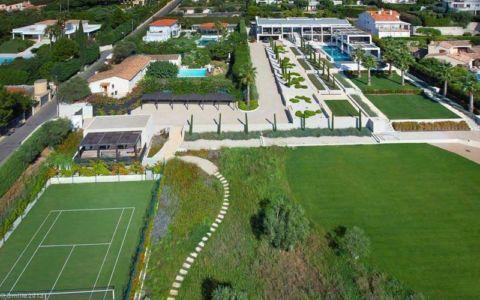 vue aérienne - villa location - France