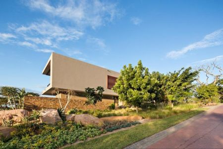 vue arrière - Aloe Ridge House par Metropole Architects - Kwa Zulu Natal, Afrique du Sud