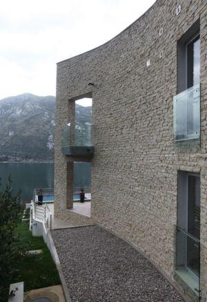 vue balcon étage - Vila-Stoliv par Enforma Architectural Studio - Montenegro