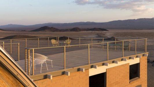 vue balcon terrasse - Volcano-House - Californie, USA
