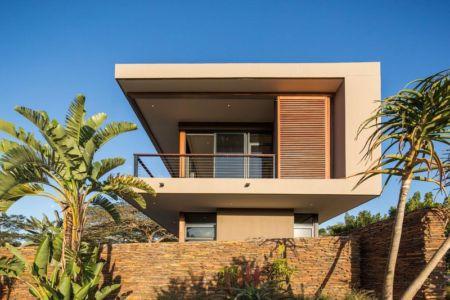 vue côté - Aloe Ridge House par Metropole Architects - Kwa Zulu Natal, Afrique du Sud
