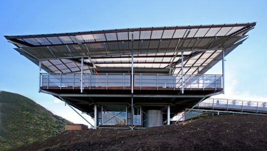 vue côté - Cooroy Studio par  JMA Architects - Cooroy, Australie