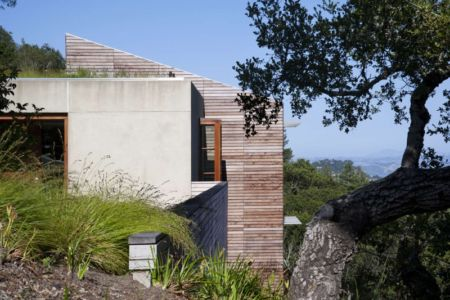 vue côté - Kentfield Residence par Turnbull Griffin Haesloop Architects - Kentfield, Usa