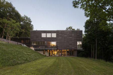 vue côté - Red Rock House par Anmahian Winton Architects - Red Rock, Usa