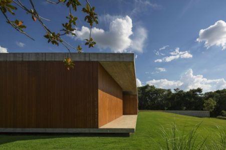 vue côté - Redux House par Studio mk27 - Brésil