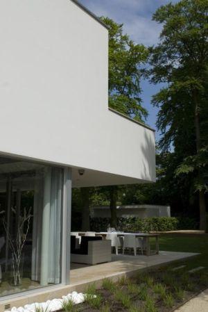 vue côté - Villa contemporaine par Clijsters Architectuur Studio - Bilthoven, Pays-Bas