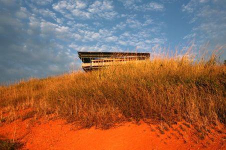 vue contrebas - Cooroy Studio par  JMA Architects - Cooroy, Australie