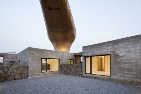 vue dôme d'or - Wind-House par Moonbalsso - Jesu Island, Corée du Sud