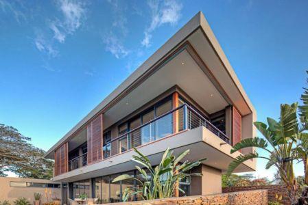 vue d'angle - Aloe Ridge House par Metropole Architects - Kwa Zulu Natal, Afrique du Sud