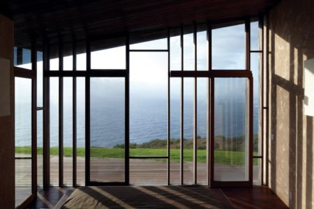 vue de la chambre - Clifftop House Maui par Dekleva Gregoric Arhitekti - Maui, Hawaï