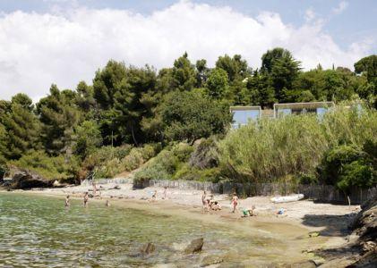 vue de la plage - Maison Le Cap par Pascal Grasso - Var, France