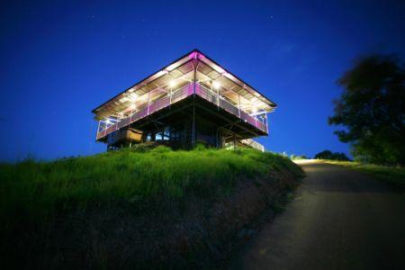 vue de nuit - Cooroy Studio par  JMA Architects - Cooroy, Australie