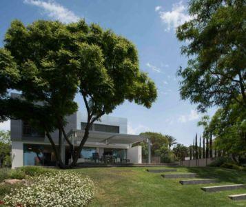 vue d'ensemble - Aluminum-Home par Studio-de-Lange - Kfar-Shmaryahu, Israël