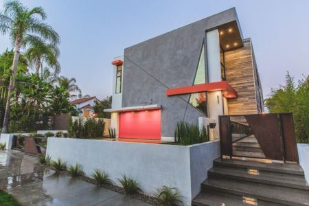 vue d'ensemble - Angular-Lines par Amit Apel - Los Angeles, USA