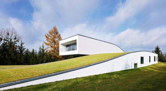 vue d'ensemble - Autofamily House - Robert Konieczny-KWK Promes - Pologne