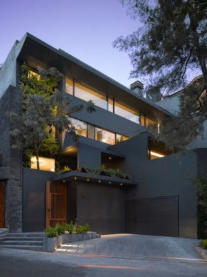 vue d'ensemble - Barrancas House par Ezequielfarca Architecture & Design - Mexico, Mexique