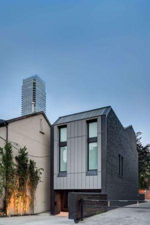 vue d'ensemble - Berryman-Street-Residence par AUDAX architecture - Ontario, Canada