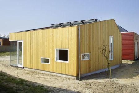 vue d'ensemble - Biobased-Living-Concept par DDacha - Pays-Bas