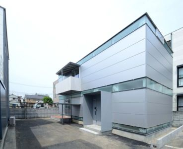 vue d'ensemble - Boundary House par Niji Architects - Tokyo, Japon