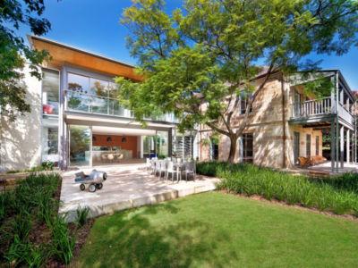 vue d'ensemble - Bulwarra - maison kate Blanchett - Sydney, Australie