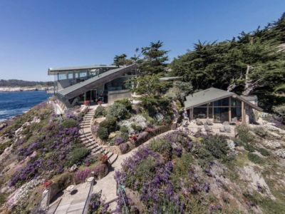 vue d'ensemble - Carmel Highlands Residence par Eric Miller Architects - Carmel-By-The-Sea, Usa