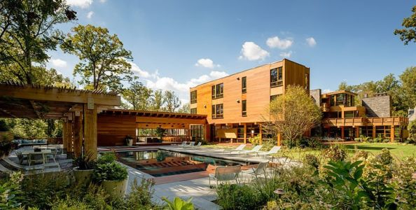 vue d'ensemble - Chalon residence par Dynerman Architects - Bethesda, Usa