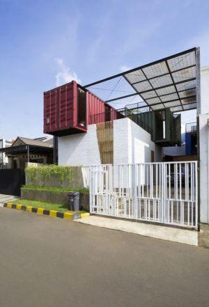 vue d'ensemble - Container-Urban par Atelier Riri - Bekasi, Indonesie
