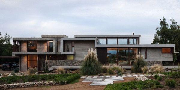 vue d'ensemble - Corredor House par Chauriye Stäger Architects - Santiago, Chili