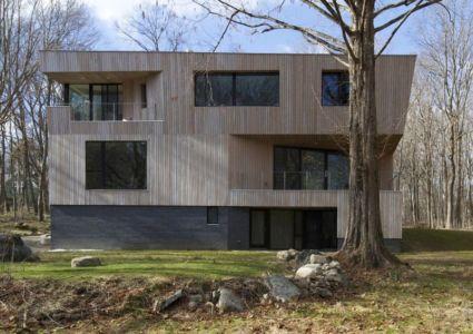 vue d'ensemble - DR_RESIDENCE par SU1 Architects + Design - Connecticut, USA