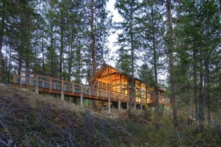 vue d'ensemble - Foster Loop par Balance Associates - Mazama,USA
