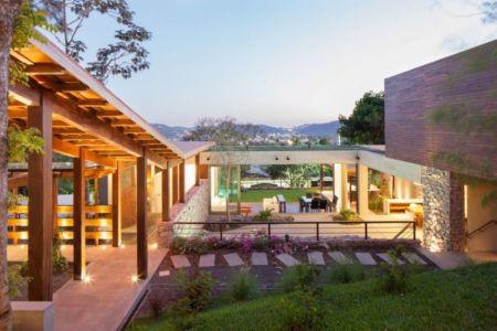 vue d'ensemble - Garden-House par Cincopatasalgato - El Salvador
