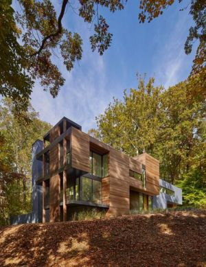 vue d'ensemble - Hills-House par Robert M. Gurney - Maryland, USA